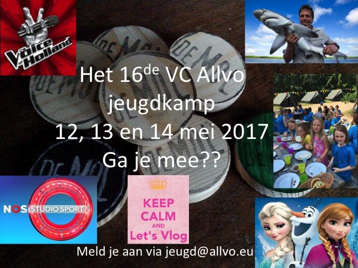 Aankondiging Jeugdkamp 2017